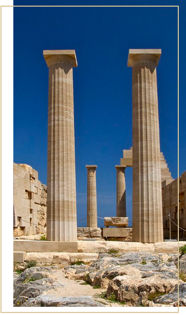 Lindos Temple